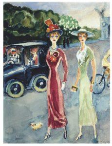 Kees-van-Dongen-La-nouvelle-Gilberte-1946-1947