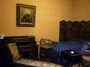 Chambre tapissée de liège musée Carnavalet