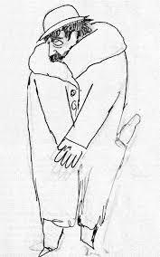 Proust emmitouflé par Cocteau