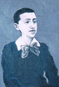 Proust à 16 ans peint par David Richardson à partir d'une photo de Nadar