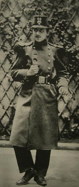 Proust Orléans 1889 76ème RI