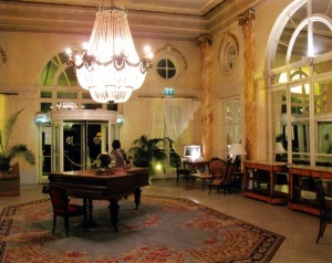 Un salon au Gd Hôtel