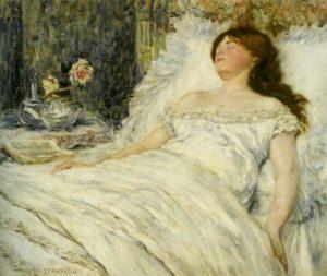 La belle endormie J-F Raffaelli