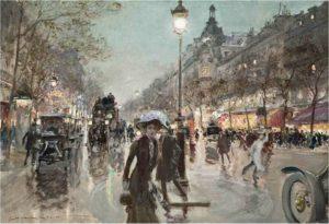 Champs Elysées Georges Stein