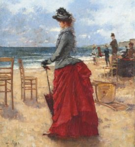 En regardant la mer (Francisco Miralles)