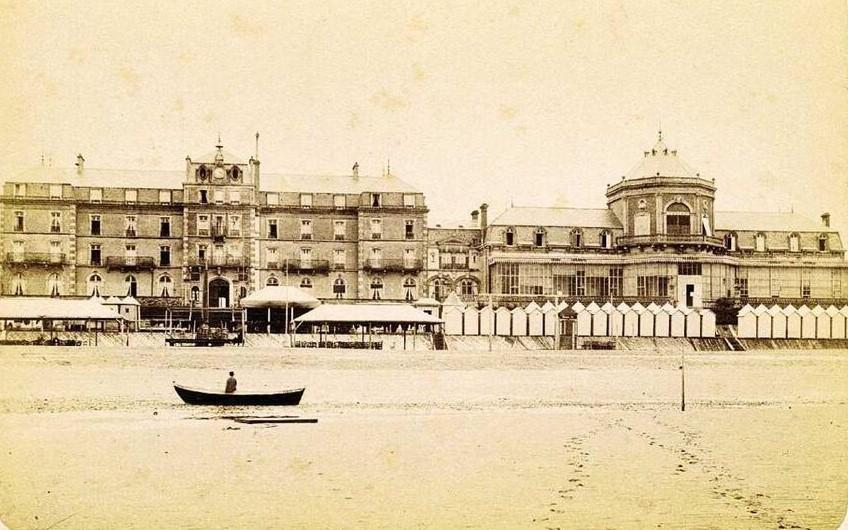 Gd Hôtel vers 1875