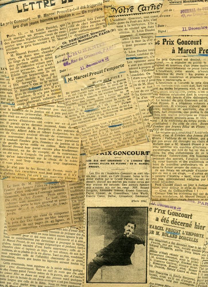 Presse Goncourt Proust