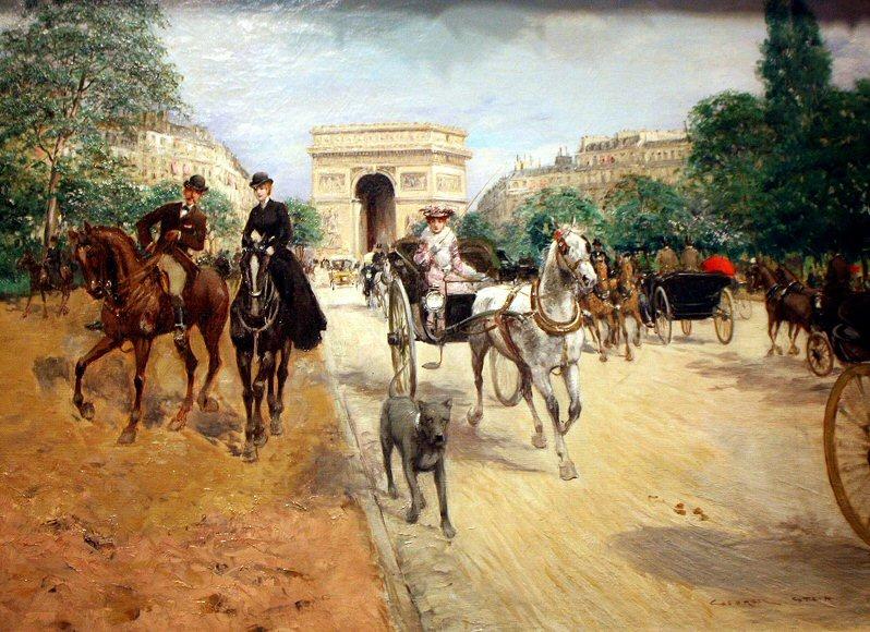 Avenue du Bois par Georges Stein