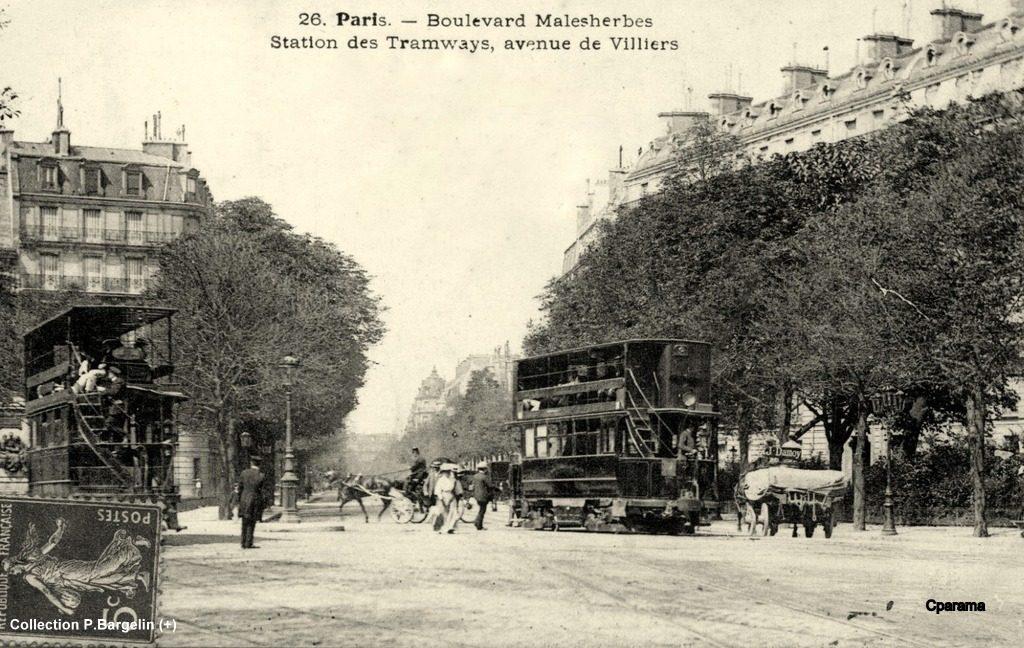Bd Malesherbes en 1873