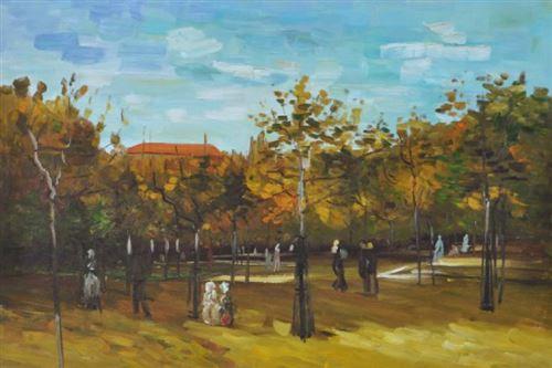 Vincent-Van-Gogh-Peinture-A-L-Huile-Bois-De-Boulogne-Avec-Promeneurs-1886-60x90-cm