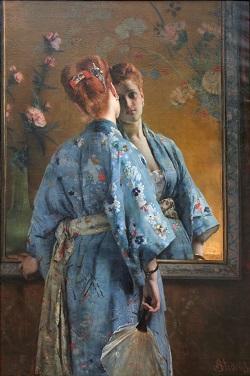 Alfred_Stevens_-_La_Parisienne_japonaise 2