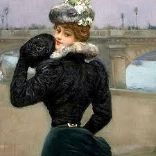 Jeune femme Paris Béraud femme à la toque