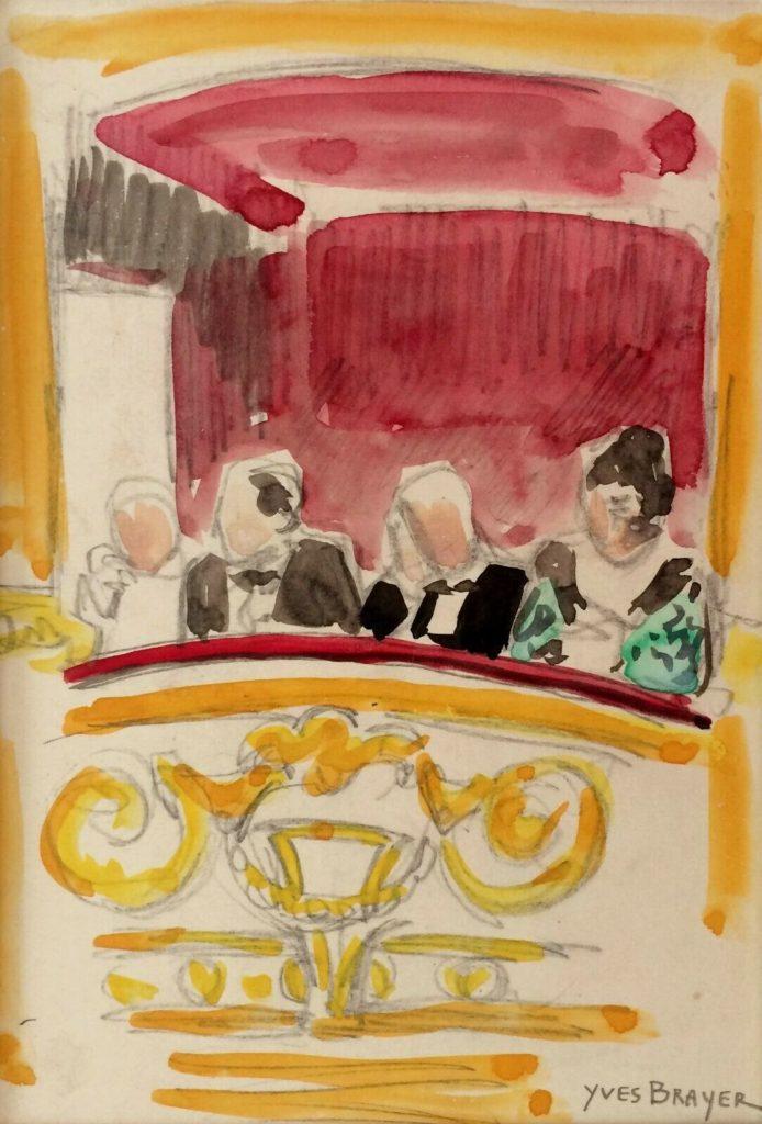 Opéra de Paris yves Brayer
